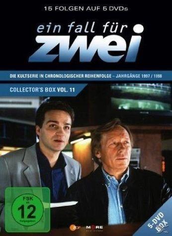 DVD »Ein Fall für Zwei - Collector's Box 11 (5 Discs)«