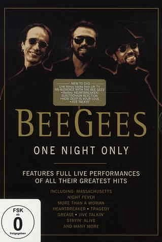 DVD »The Bee Gees - One Night Only: Anniversary...«