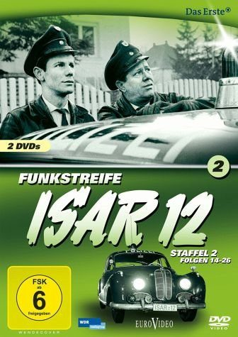 DVD »Funkstreife ISAR 12 - Staffel 2, Folgen 14-26...«