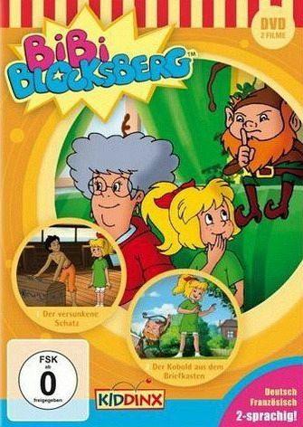 DVD »Bibi Blocksberg - Der versunkene Schatz / Der...«