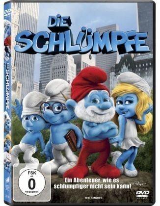 DVD »Die Schlümpfe, 1 DVD«