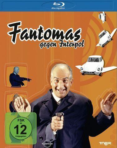 Blu-ray »Fantomas gegen Interpol«
