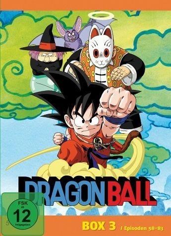 DVD »Dragonball - Box 3 (5 Discs)«