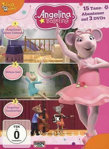 DVD »Angelina Ballerina - 15 Tanzabenteuer auf 3...«