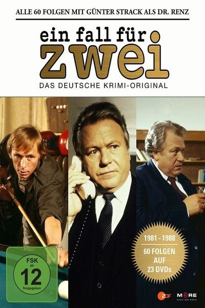 DVD »Ein Fall für Zwei - Günter Strack Box (23 Discs)«