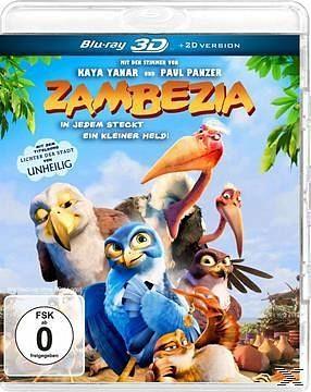 Blu-ray »Zambezia - In jedem steckt ein kleiner Held!...«