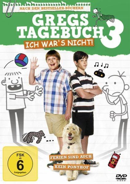 DVD »Gregs Tagebuch 3 - Ich war's nicht! (DVD)«
