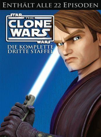 DVD »Star Wars: The Clone Wars - Die komplette...«