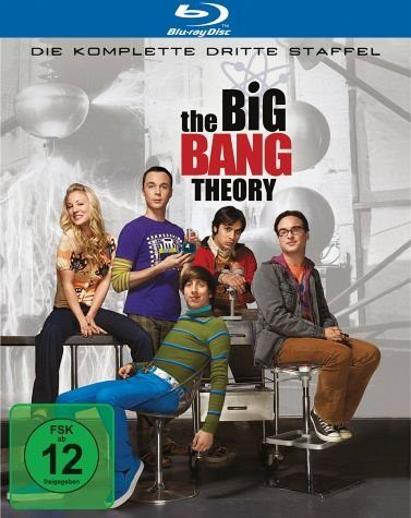 Blu-ray »The Big Bang Theory - Die komplette dritte...«