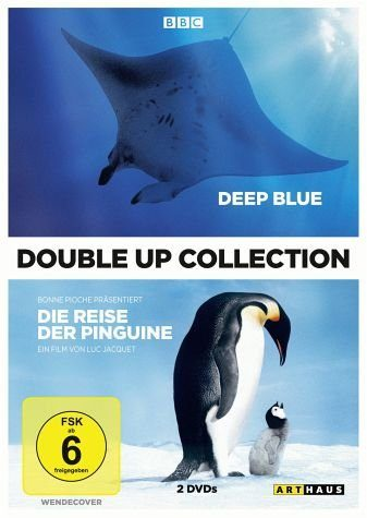 DVD »Deep Blue / Die Reise der Pinguine (Double Up...«
