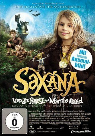 DVD »Saxana und die Reise ins Märchenland«