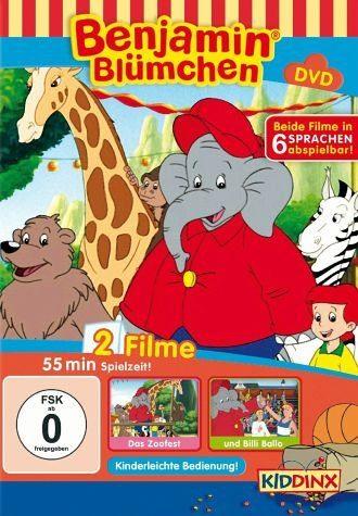 DVD »Benjamin Blümchen - Das Zoofest / und Billi Ballo«