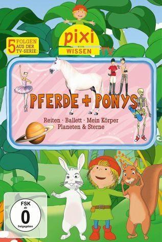DVD »Pixie Wissen TV - Pferde + Ponys«