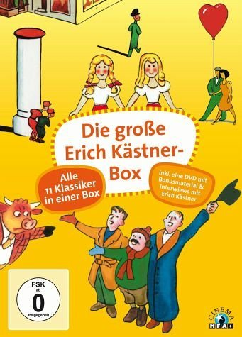 DVD »Die große Erich Kästner-Box (12 Discs)«