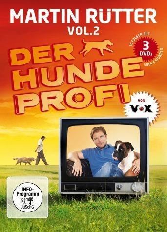 DVD »Martin Rütter - Der Hundeprofi, Vol. 2 (3 Discs)«