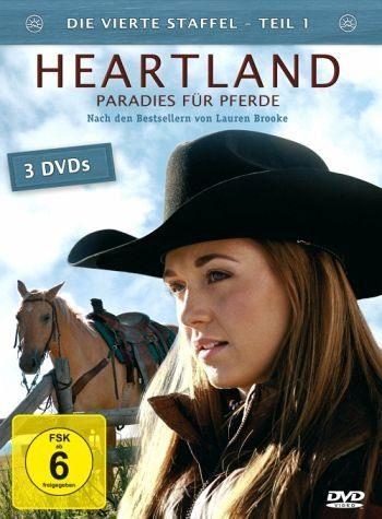 DVD »Heartland - Paradies für Pferde, Staffel 4.1«