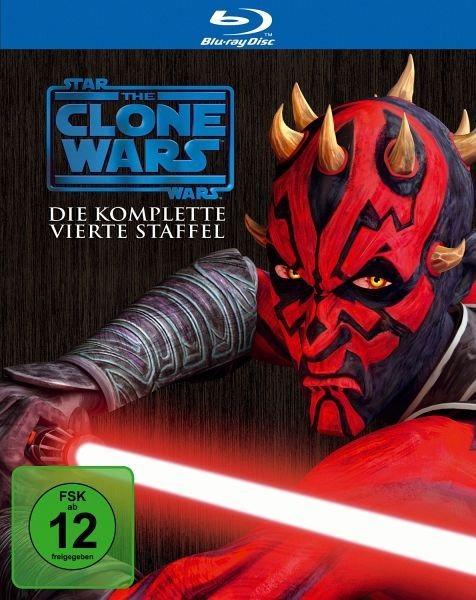 Blu-ray »Star Wars: The Clone Wars - Die komplette 4....«