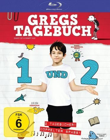 Blu-ray »Gregs Tagebuch 1 und 2 (2 Discs)«