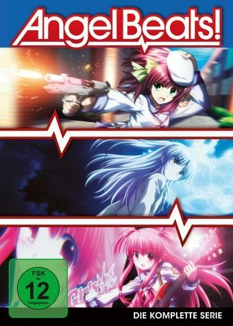DVD »Angel Beats! - Vol. 1-3 (3 Discs)«