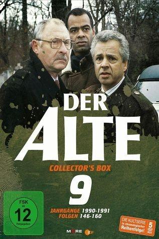 DVD »Der Alte - Collector's Box Vol. 09 (Folgen...«