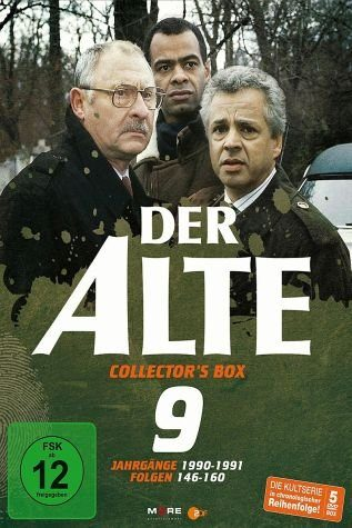 DVD »Der Alte - Collector's Box Vol. 09 (Folgen...«