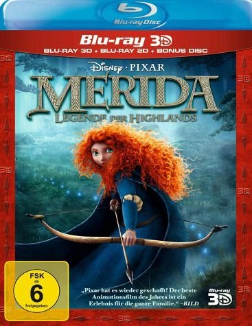 Blu-ray »Merida - Legende der Highlands 3D-Superset, 1...«