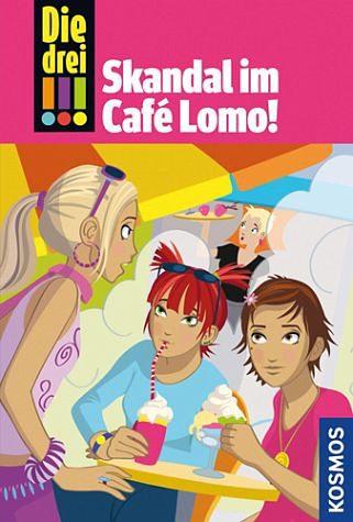 Gebundenes Buch »Skandal im Café Lomo / Die drei Ausrufezeichen...«