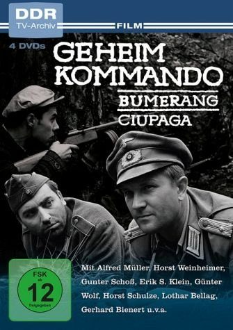 DVD »Geheimkommando Bumerang / Geheimkommando Ciupaga«
