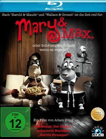 Blu-ray »Mary & Max oder Schrumpfen Schafe wenn es regnet?«