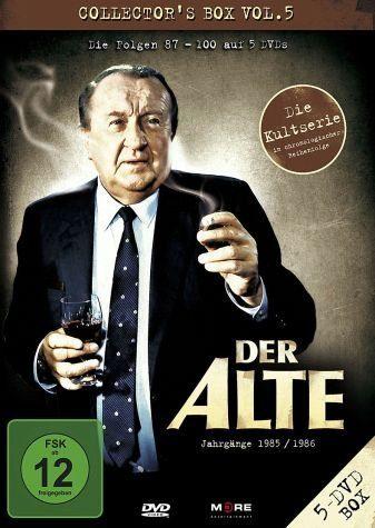 DVD »Der Alte - Collector's Box Vol. 05 (Folgen...«