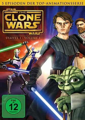 DVD »Star Wars: The Clone Wars - Staffel 1, Vol. 1«