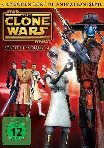 DVD »Star Wars: The Clone Wars - Staffel 1, Vol. 4«