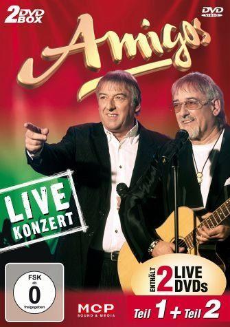 DVD »Amigos - Live-Konzert Teil 1 & 2 (2 Discs)«