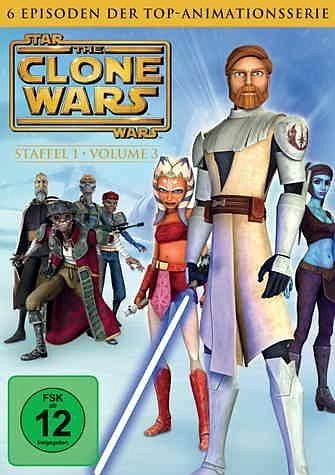 DVD »Star Wars: The Clone Wars - Staffel 1, Vol. 3«
