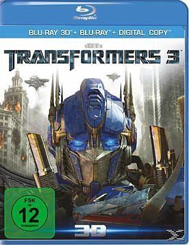 Blu-ray »Transformers 3 (Blu-ray 3D, Blu-ray 2D, + DVD,...«