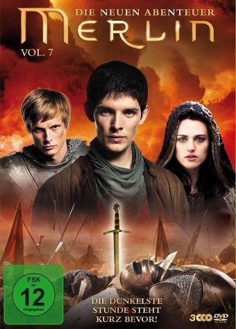 DVD »Merlin - Die neuen Abenteuer, Vol. 07 (3 Discs)«