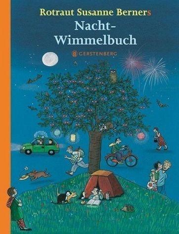 Buch mit Papp-Einband »Nacht-Wimmelbuch. Midi-Ausgabe«
