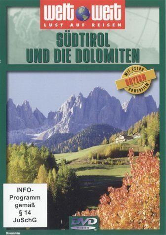 DVD »Weltweit - Südtirol und die Dolomiten«