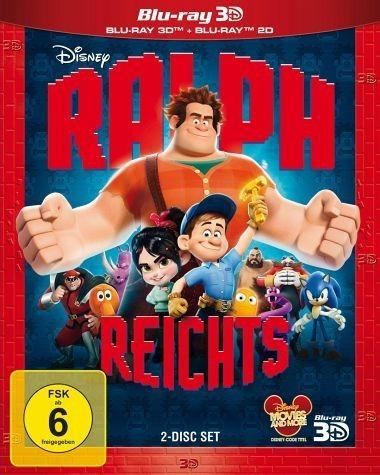 Blu-ray »Ralph reicht's (Blu-ray 3D, + Blu-ray 2D)«
