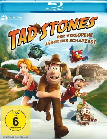 Blu-ray »Tad Stones - Der verlorene Jäger des Schatzes!«