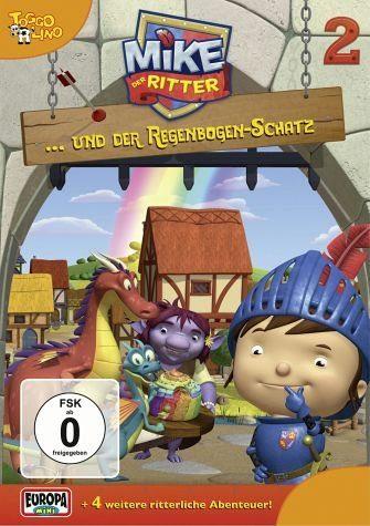 DVD »Mike, der Ritter... und der Regenbogen-Schatz«