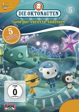 DVD »Die Oktonauten... und der verirrte Seestern«