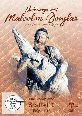 DVD »Unterwegs mit Malcolm Douglas - Die komplette...«