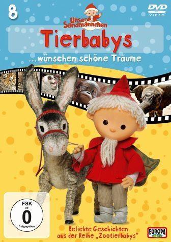 DVD »Unser Sandmännchen Folge 8: Tierbabys......«