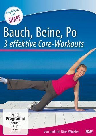 DVD »Bauch, Beine, Po - 3 intensive Core-Workouts«