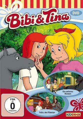 DVD »Bibi & Tina - Ein unfaires Rennen / Felix, der...«