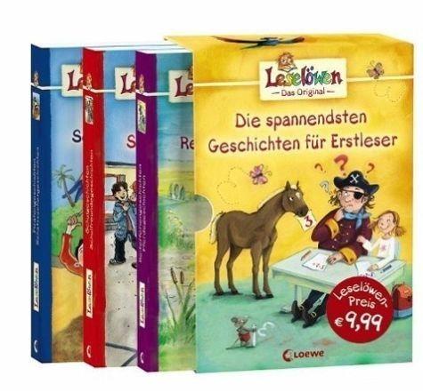 Broschiertes Buch »Die spannendsten Geschichten für Erstleser (3...«