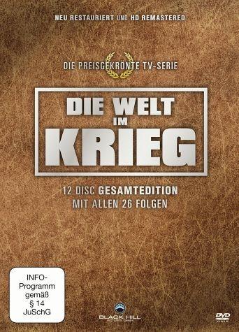 DVD »Die Welt im Krieg Box - Gesamtedition (12 Discs)«