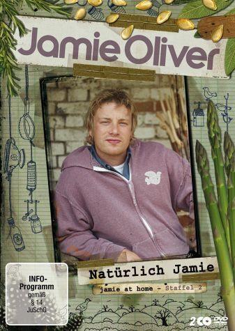 DVD »Jamie Oliver - Natürlich Jamie, Staffel 2 (2...«