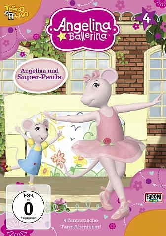 DVD »Angelina Ballerina - Angelina und Super-Paula«